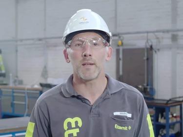 Eternit HR clip Marc